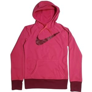 NIKE Therma-Fit Big Logo Hoodie Pullover- Sz  XS